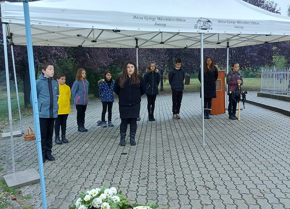 Október 6. – Városi megemlékezés a Szoborhegyen