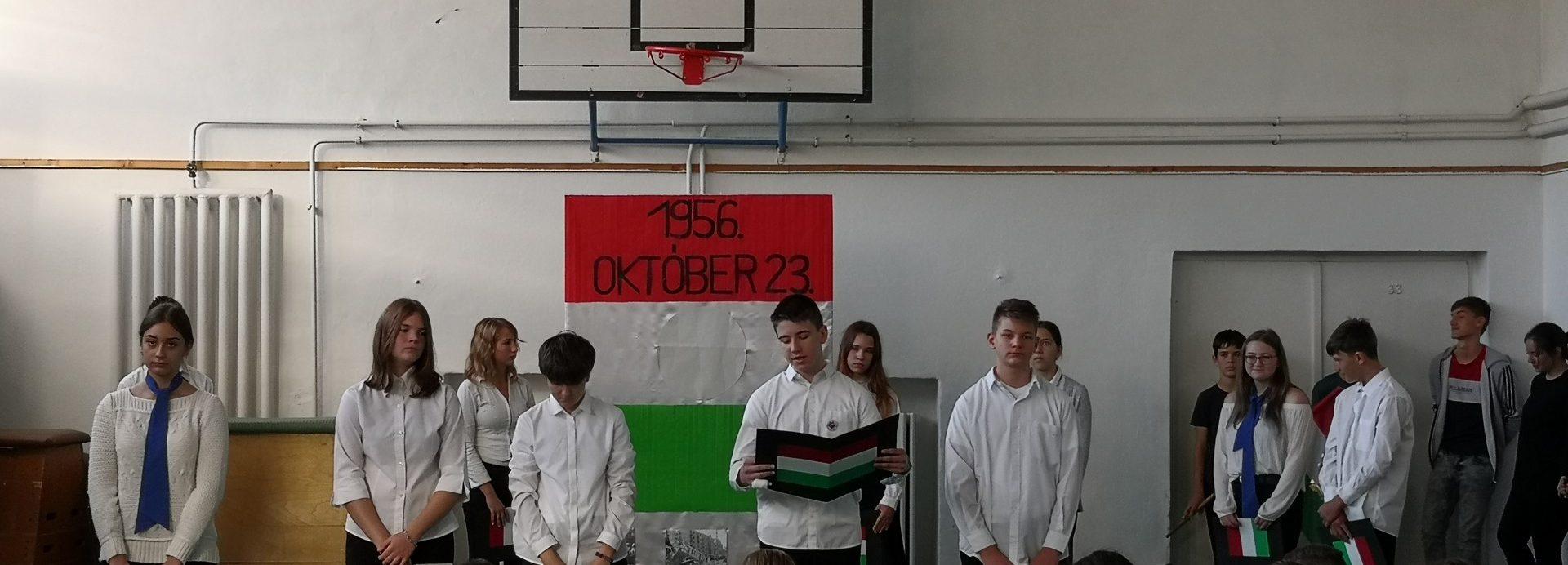 Emlékezés 1956. október 23-ra